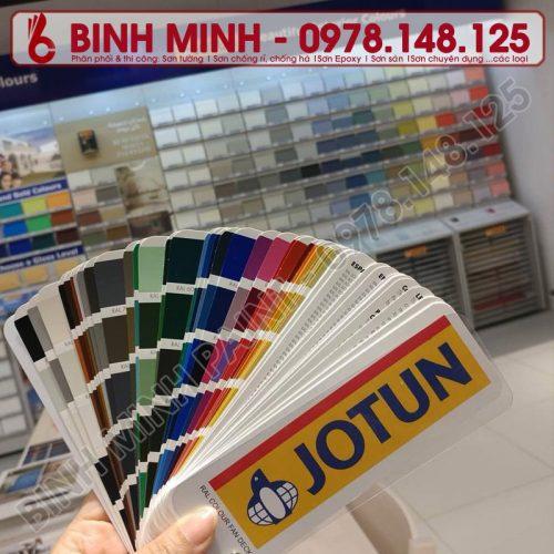 Quạt màu RAL sơn JOTUN chính hãng