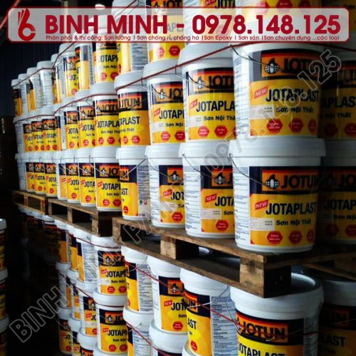 Sơn Phủ Nội Thất Jotun Jotaplast (5 lít)) chính hãng Bình Minh, Hà Nội