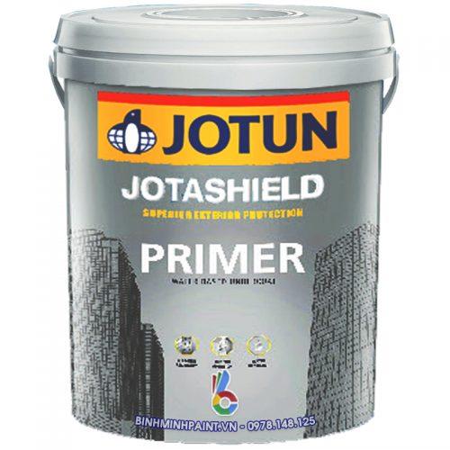 Sơn lót Jotun Jotashield Primer chống kiềm ngoài trời mới 17 lít chính hãng Bình Minh
